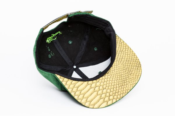 groene uil pet green owl cap snapback suede amsterdam royston drenthe roya 2 faces