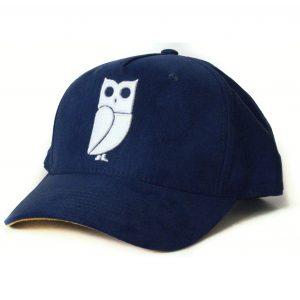 Blue navy baseball cap veryus quality suede