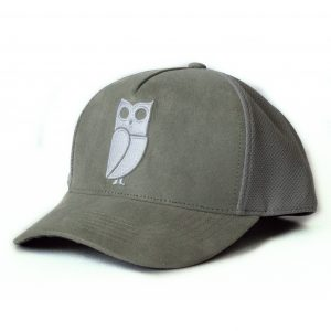 Grey trucker cap veryus high quality suede