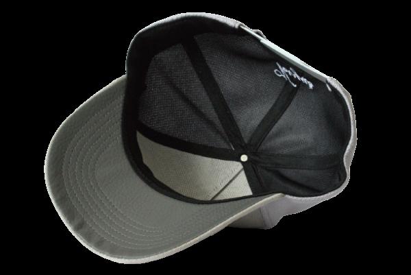 Veryus grijze pet kopen baseball stijl grey metropolitan