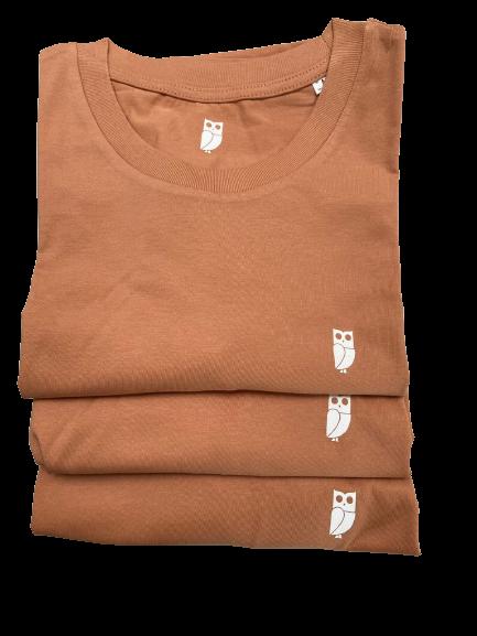 Oranje Uil T-Shirts